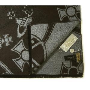 Vivienne Westwood マフラー  ダークブラウン系 M9006c61BR|mikawatk