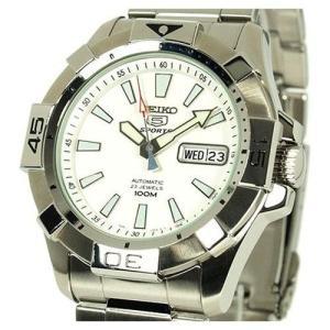 セイコー5 セイコーファイブ 自動巻き腕時計 電池交換不要 SNZH09W|mikawatk