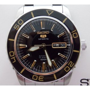 セイコー5 男性用時計 セイコーファイブ 自動巻き 電池交換不要 SNZH57K|mikawatk