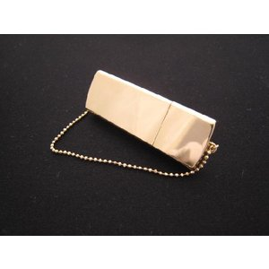 18金 USBケース 1GBフラッシュメモリ|mikawatk