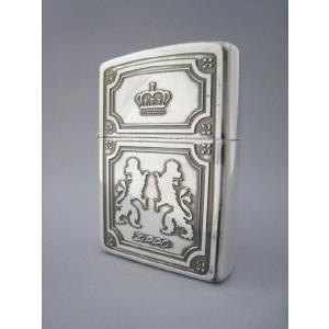 Zippo フランドル調  立ち上がる獅子の紋章   z-637|mikawatk