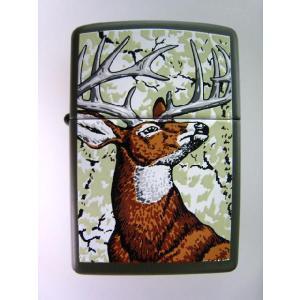 zippo USAオリジナル 鹿柄  z-674|mikawatk