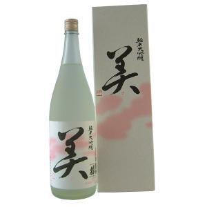蓬莱泉 純米大吟醸「美」 1800ml 15度〜16度|mikawaya4783