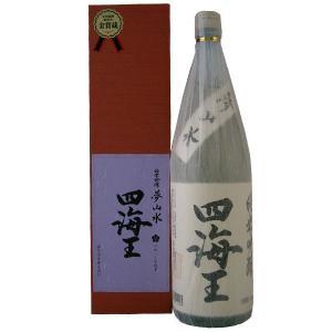 四海王 純米吟醸 夢山水 1800ml 15度〜16度|mikawaya4783