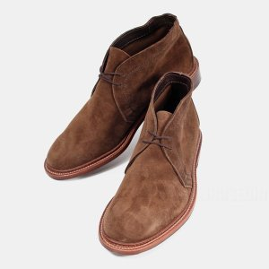 オールデン ALDEN 靴 スエード メンズ Polacchino Eワイズ 1492 送料無料