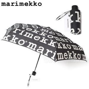 マリメッコ Marimekko マリロゴ 折りたたみ傘 Marilogo mini manual 0...