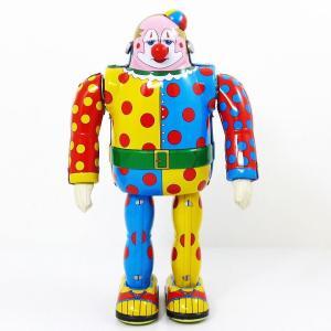 【ブリキ/tintoy】『CLOWN ピエロ』ブリキロボット  日本製|mikestore