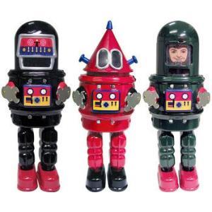 ブリキロボット 3体セットMIKE ROBOT SERIES【smtb-tk】|mikestore