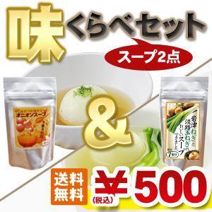 淡路島オニオンスープ&岩津ねぎと淡路島産玉ねぎのスープ 味比べ2点セット 限定  お試しセット  全国一律メール便送料無料