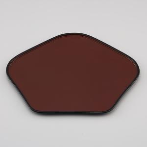 輪島塗 点心盆 梅型 1枚 (漆器) miki-holz