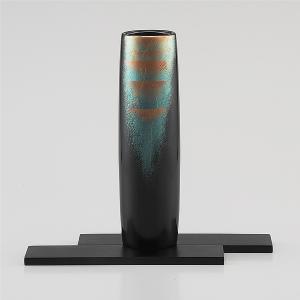 輪島塗 花器 萩 桐箱入り (漆器・花瓶)|miki-holz