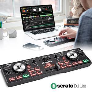Numark コンパクト DJコントローラー DJ2GO2 Touch タッチセンシティブ・ジョグホ...