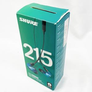 SHURE シュアー SE215SPE-B-UNI-A イヤホン カナル型 高遮音性 リモコン搭載 ...