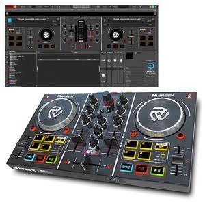 《アウトレット品》Numark DJコントローラー VIRTUAL DJ LE対応 パーティライト搭載 Party Mix