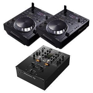 PIONEER DJ CDJ-350×2 + DJM-250MK2 セット DJプレーヤー + DJミキサー rekordbox【送料無料】|mikigakki