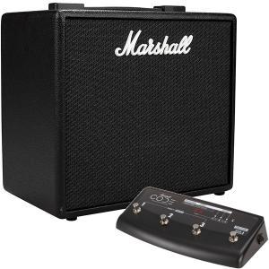 Marshall マーシャル CODE25 ギターアンプ 25W + CODE専用プログラマブルフットコントローラー PEDL-91009 セット|mikigakki