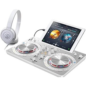 PIONEER DJスタートセット DDJ-WEGO4-W + ATH-S100(DJコントローラー...