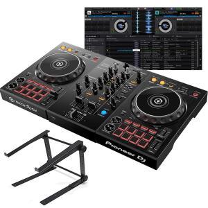 Pioneer DJ パイオニア   DDJ-400 + LTSTAND   DJコントローラー + PCスタンドセット|mikigakki