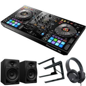 PIONEER DJコントローラー DDJ-800 + ヘッドホン + スピーカー + スタンド 買い足し不要 DJスタートセット|mikigakki