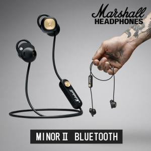 【マーシャルグッスもれなくプレゼント】Marshall マーシャル MINOR II ワイヤレスイヤホン Bluetooth対応 12時間連続再生【国内正規品】|mikigakki