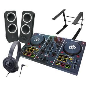 NUMARK ヌマーク  PartyMix + ATH-S100 + Z200 + LTSTAND 買い足し不要 DJスタートセット|mikigakki