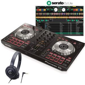 Pioneer DJ パイオニア DDJ-SB3 + ATH-S100 DJコントローラー+ヘッドホンセット  SERATO DJ LITE対応|mikigakki