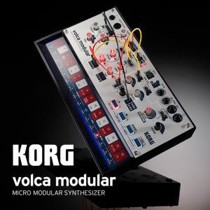volca modularは、それぞれが独立したアナログ・シンセ・モジュールと、デジタル・エフェクト...