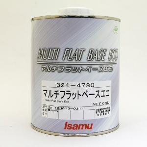 イサム塗料 マルチフラットベースエコ 0.9L缶|mikipaint