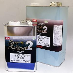 イサム塗料 ヘッドライト補修用塗料 レンズリフォーマー2塗料4.8Kgセット|mikipaint