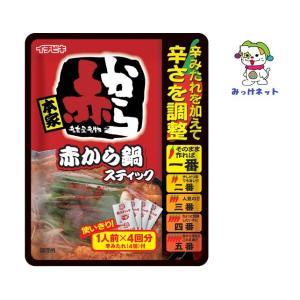 【1箱(10個)まとめ買い】248円(税別)  イチビキ 赤から鍋 スティック(1人前*4回分) 10個セット mikkenet