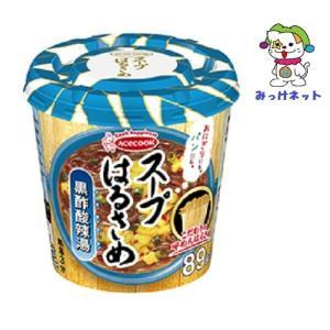 【1個120円(税抜き)の2箱(6個×2箱)まとめ買い】エースコック スープはるさめ 黒酢酸辣湯34 |mikkenet
