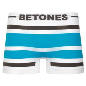 BETONES ビトーンズ AKER BROWN/TURQUOISE 33997 メンズ フリーサイズ ボクサーパンツ miko-store