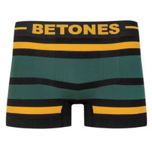 BETONES ビトーンズ BLACK AKER YELLOW/GREEN メンズ フリーサイズ ボクサーパンツ miko-store