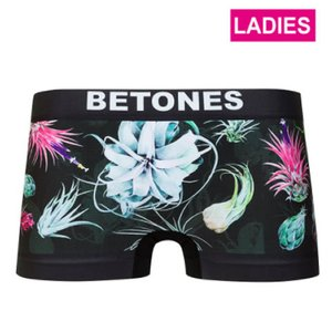 BETONES ビトーンズ 【LADYS】 BOTANICAL BLACK レディース フリーサイズ ボクサーパンツ miko-store