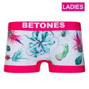 BETONES ビトーンズ 【LADYS】 BOTANICAL PINK レディース フリーサイズ ボクサーパンツ miko-store