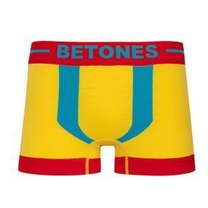 BETONES ビトーンズ KICKS RED×BLUE メンズ フリーサイズ ボクサーパンツ miko-store