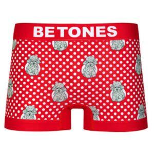 BETONES ビトーンズ MOCHA RED メンズ フリーサイズ ボクサーパンツ miko-store