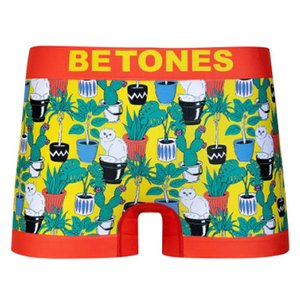 BETONES ビトーンズ SHAN ORANGE メンズ フリーサイズ ボクサーパンツ miko-store