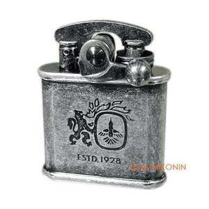 Colibri コリブリ フリントオイルライター ニッケルバレル 308-0030|miko-store