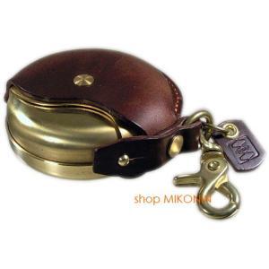 Cramp クランプ イタリアンレザー 携帯灰皿 マルチケース チョコ|miko-store