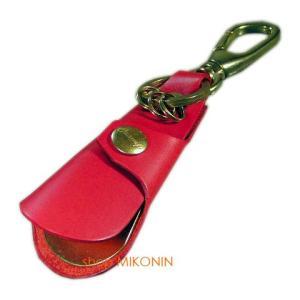 Cramp クランプ 靴べらキーホルダー レッド|miko-store