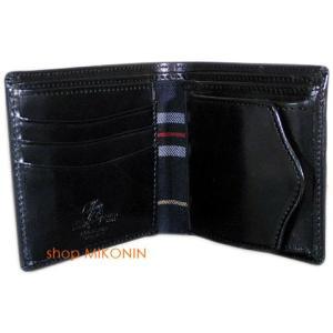 HARVIE&HUDSON 二つ折り財布 ブラック HA-2002 BK|miko-store|02