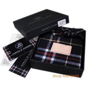 HARVIE&HUDSON 二つ折り財布 ブラック HA-2002 BK|miko-store|11