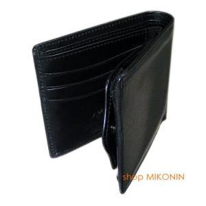 HARVIE&HUDSON 二つ折り財布 ブラック HA-2002 BK|miko-store|08