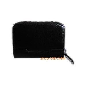 HARVIE&HUDSON カードケース アコーディオン型 ブラック HA-5005 BK|miko-store
