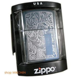 ZIPPO ジッポー 表 352 ベネチアン 裏 250 ハイポリ 無地 2005年製|miko-store