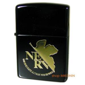 ZIPPO エヴァンゲリオン NERV/BLACK&GOLD シリアルNO.入り ジッポーライター 正規品|miko-store