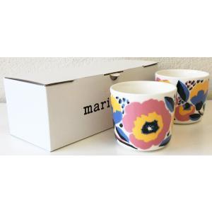 マリメッコ ROSARIUM COFFEE CUP 2DL 2PCSセット ホワイト|mikonfinlandshop