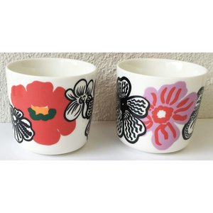 マリメッコ KAUKOKAIPUU COFFEE CUP 2DL 2PCS SET カウコカイプー コーヒーカップセット mikonfinlandshop