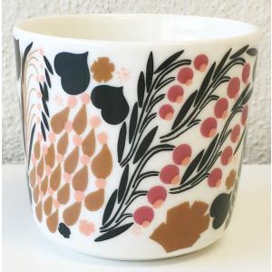 マリメッコ LETTO COFFEE CUP レット コーヒーカップ 2DL ホワイト 単品|mikonfinlandshop
